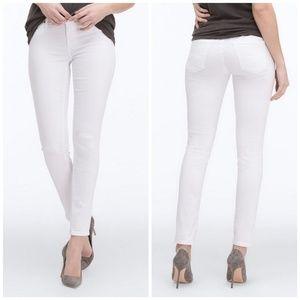AG Legging Ankle Skinny Stretch Jeans White